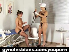 Lesbian doctor seducing her patient Thumb