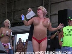 hottest milf contest at the abate of iowa biker rally Thumb