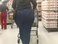 PAWG Stuffed in VERY TIGHT jeans! Thumb