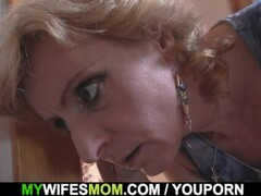 Blonde mother in law taboo sex Thumb