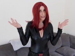 Youtube hottie Christina Khalil in a tight catsuit Thumb