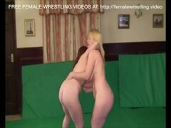 Blonde and Redhead Catfight Lesbian Sex Thumb