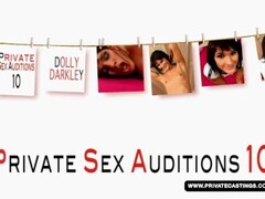 Brunette Dolly Darkley, her casting had anal sex Thumb