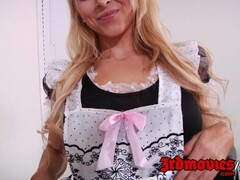 Alix Lynx in her super hot and sexy maid outfit Thumb