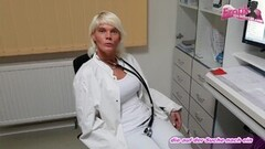 german skinny female doctor seduces patient Thumb