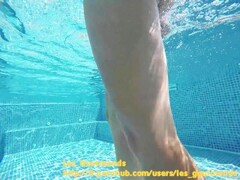 Hot Milf with Buttplug in the pool, fucked, big cumshot Thumb