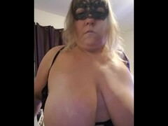 BBW Wife sends hubby a video at work. Thumb