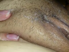 Shaving the clit smooth Thumb