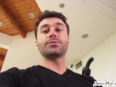 House Party Full of Young Teen Pussy Eating Sluts Show Off for James Deen Thumb