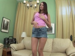 Girl Enjoys Herself On The Couch - FBA Publications Thumb