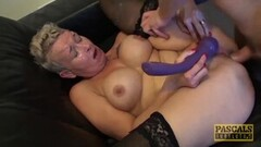 Horny GILF BDSM Fucked Beside Cuckold Thumb