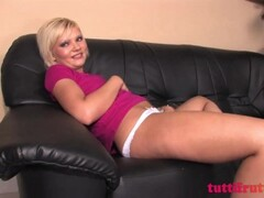 Perverse euro teen on first casting Thumb