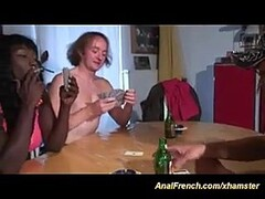 French french african babe loves deep anal Thumb
