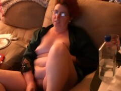 Puffy wife (close up) obtaining pussy licked Thumb