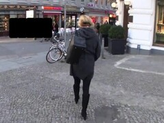 Wife and anal plug in public Thumb