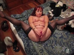 Red head wife vibrator orgasms Thumb