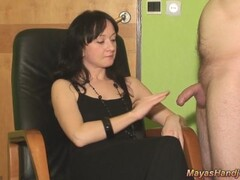 2 cumshots on maya black dress Thumb