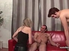 Sexy MILF pounded hard by Young Stud (Husband Films) Thumb