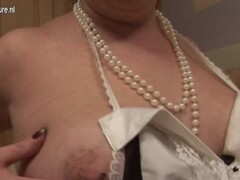 hot blonde with fake tits squirts on live webcam - cam4 Thumb