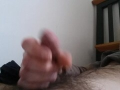 Rough face-fucking begging for cum on face! Thumb