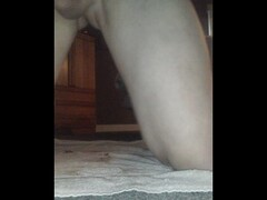 Euro slave gets her ass drilled with strapon on all fours Thumb