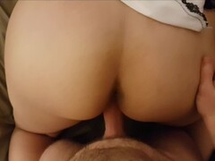 Redhead femdom gagging and toying lesbian submissive Thumb